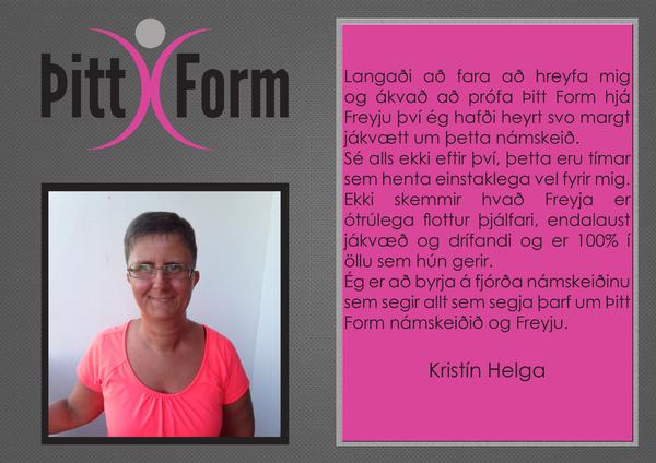 Kristín Helga